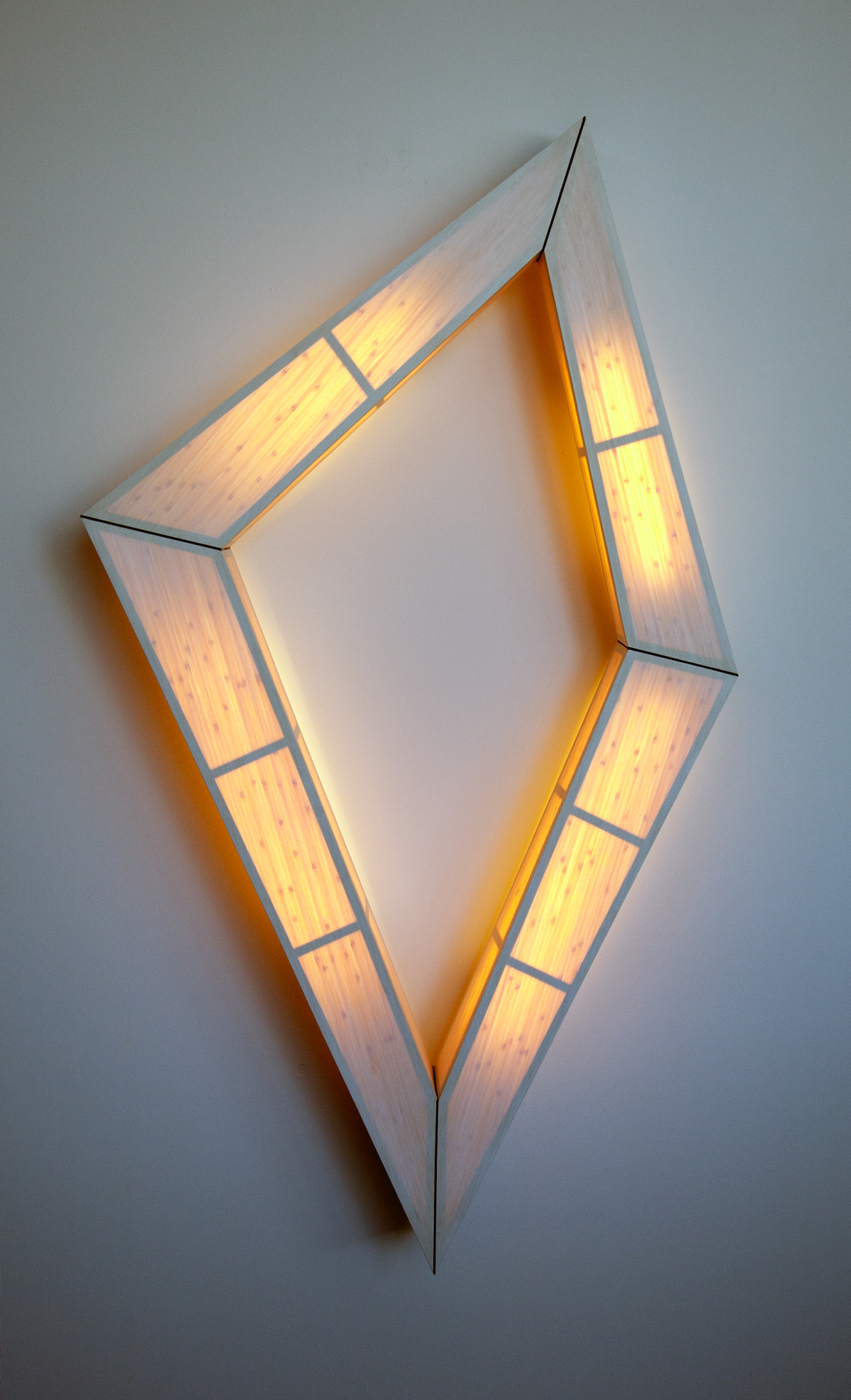 The Diamond Series: Sculptural Lighting
