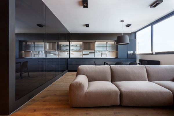 A Young Man's Kiev Apartment Goes Modern