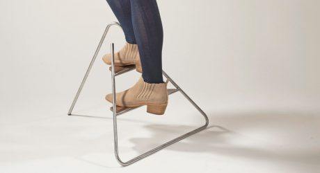 Triangle Step Ladder by Jeeyoung Yang