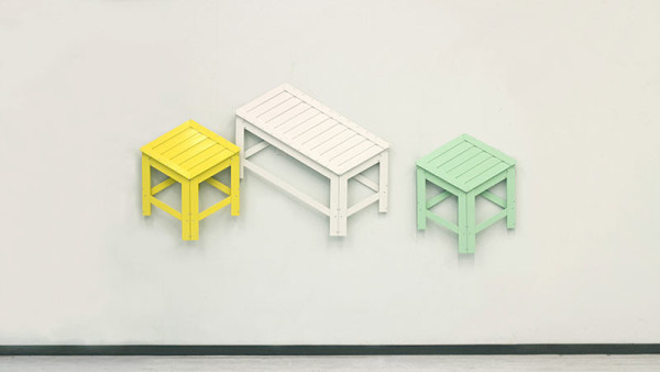 Furniture That Goes From 2D to 3D