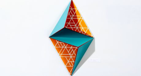 3D Geometrical Paintings by Kate Matthews