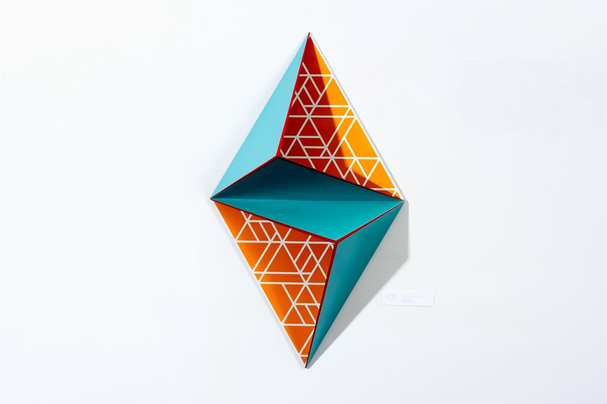 3D Geometrical Paintings by Kate Matthews