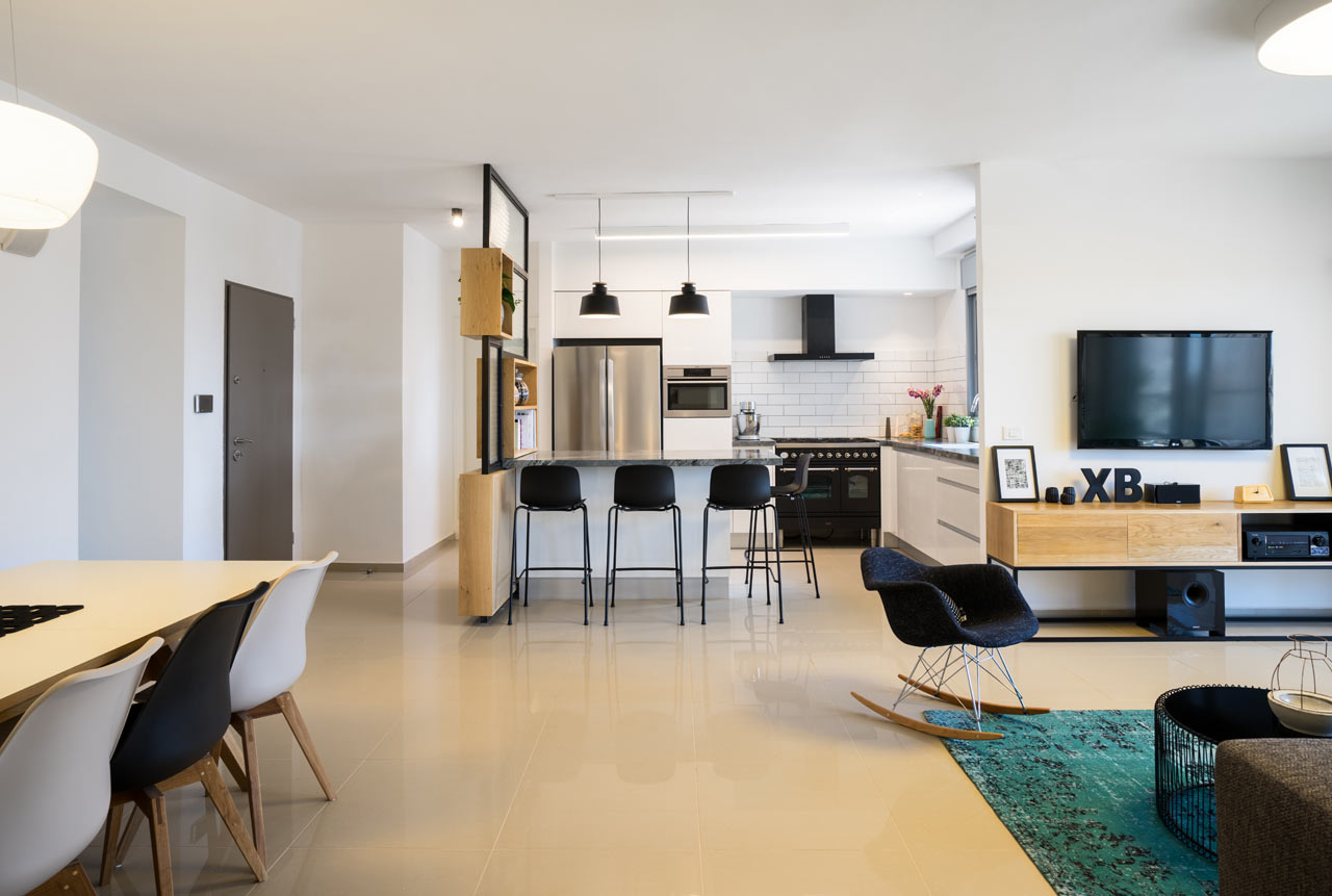 Interior design of a new apartment by en design studio for Australian design studio