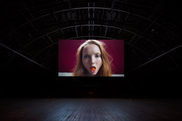 Work No. 2727: Lily Cole. Installation at Park Avenue Armory. Photo by James Ewing