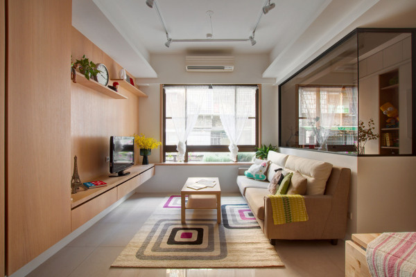 A Modest Apartment Redesigned to Improve Functionality