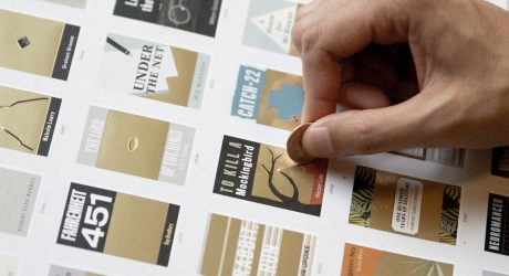 A Scratch-Off Chart of Novels to Keep Track as You Read Them