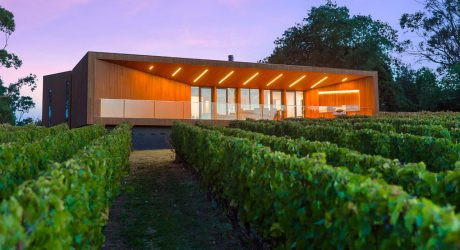 A Modern Home in the Wine Region of Red Hill