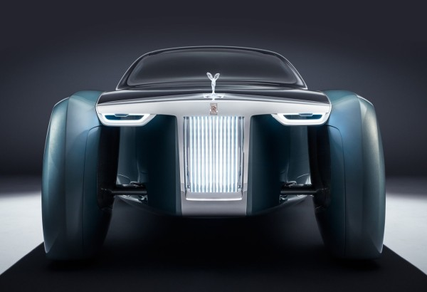 Rolls-Royce Vision Next 100-grill
