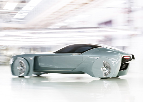 Rolls-Royce Vision Next 100-moving