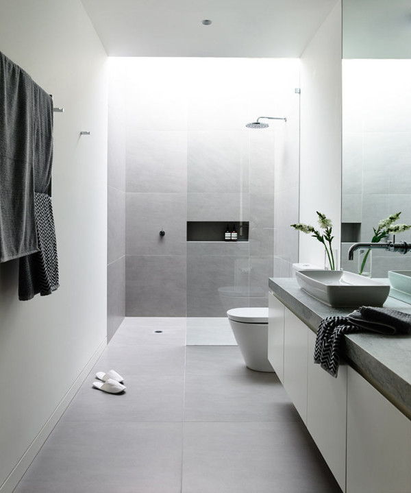48 Minimalist Bathrooms Of Our Dreams Design Milk Mesmerizing Bathroom Interior Designers