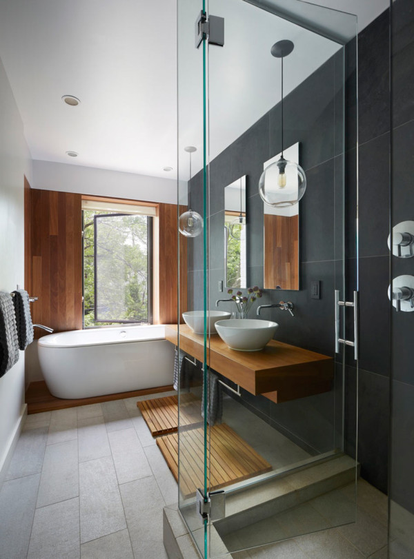 48 Minimalist Bathrooms Of Our Dreams Design Milk Stunning Bathroom Interior Designers