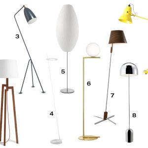10 Modern Floor Lamps