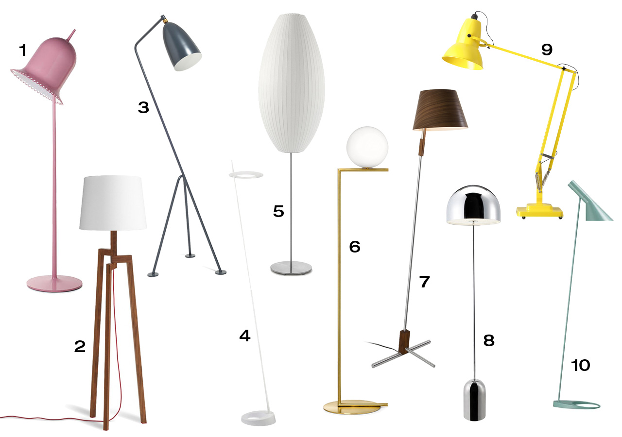 10 modern floor lamps design milk 10 modern floor lamps aloadofball Choice Image
