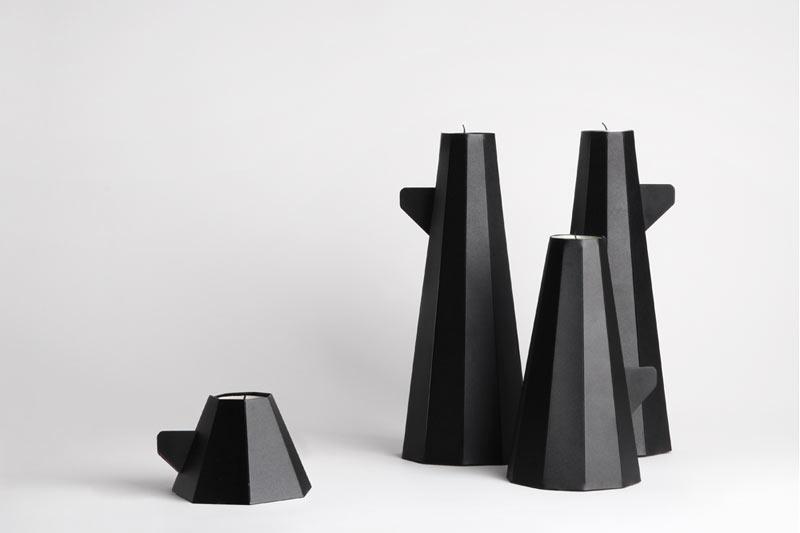 Diy Folding Tea Light Holders