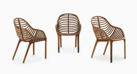 PAM: A Chair That Mimics a Palm Leaf