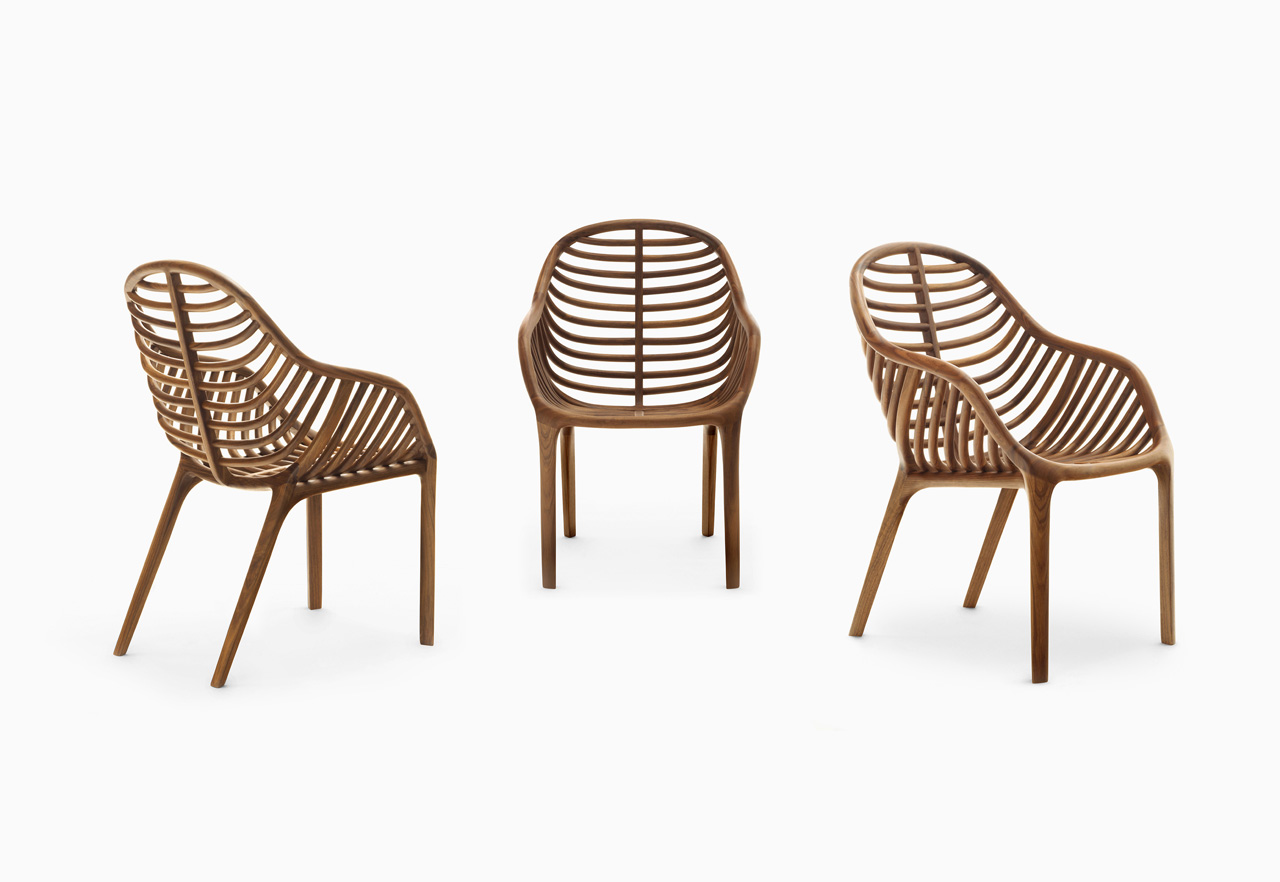 PAM: A Chair That Mimics A Palm Leaf ...
