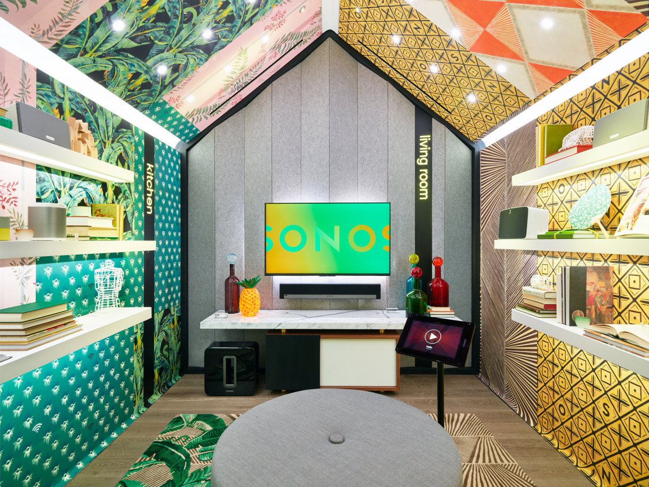 Sonos opens their first retail store in soho design milk for Home good stores nyc