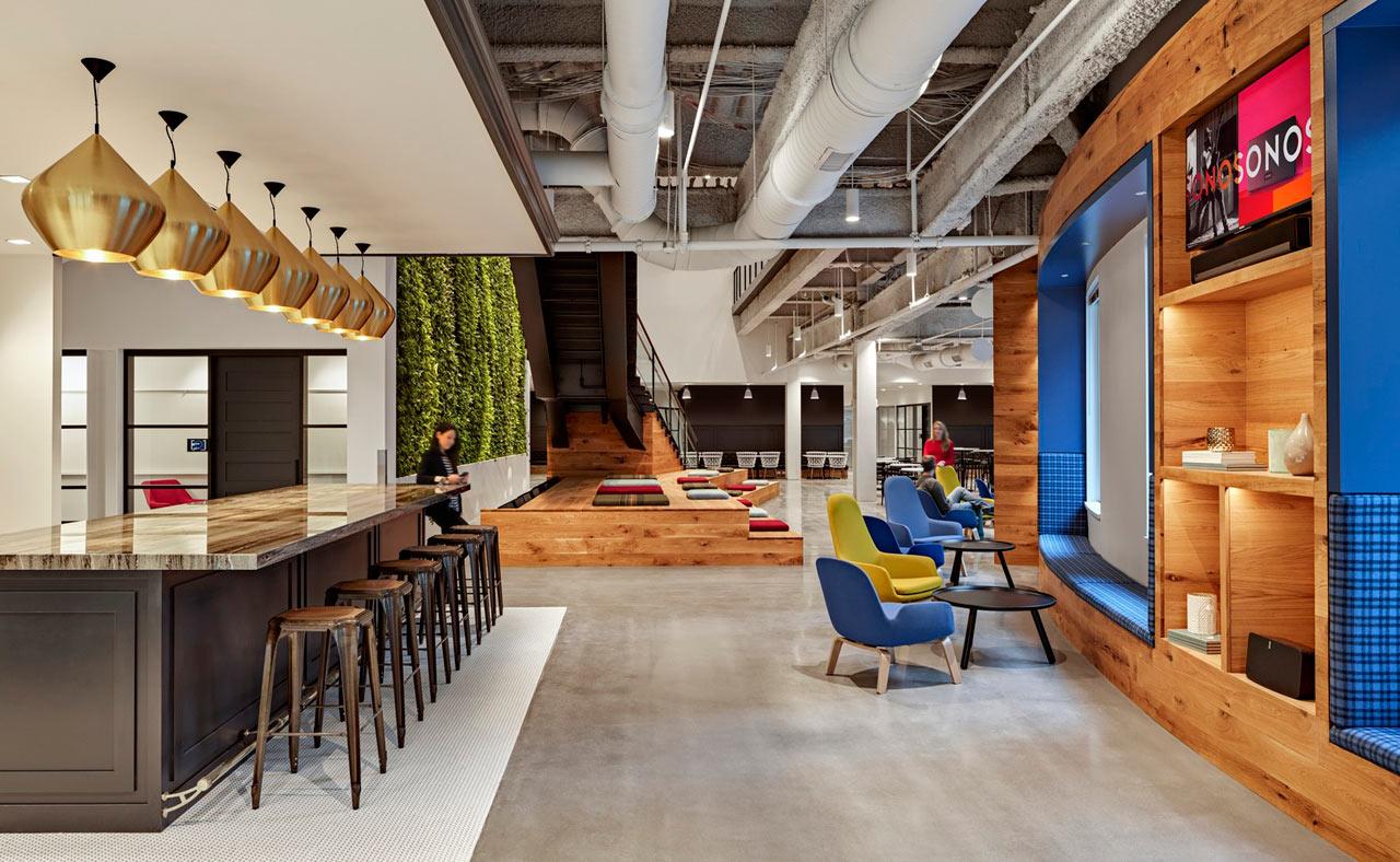 the reinvented boston offices of sonos design milk