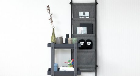 A Multifunctional Trolley Table