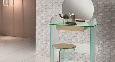 Opalina: Glass Furniture by Cristina Celestino for Tonelli Design