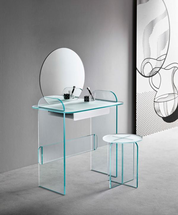 Glass Furniture by Cristina Celestino for Tonelli Design