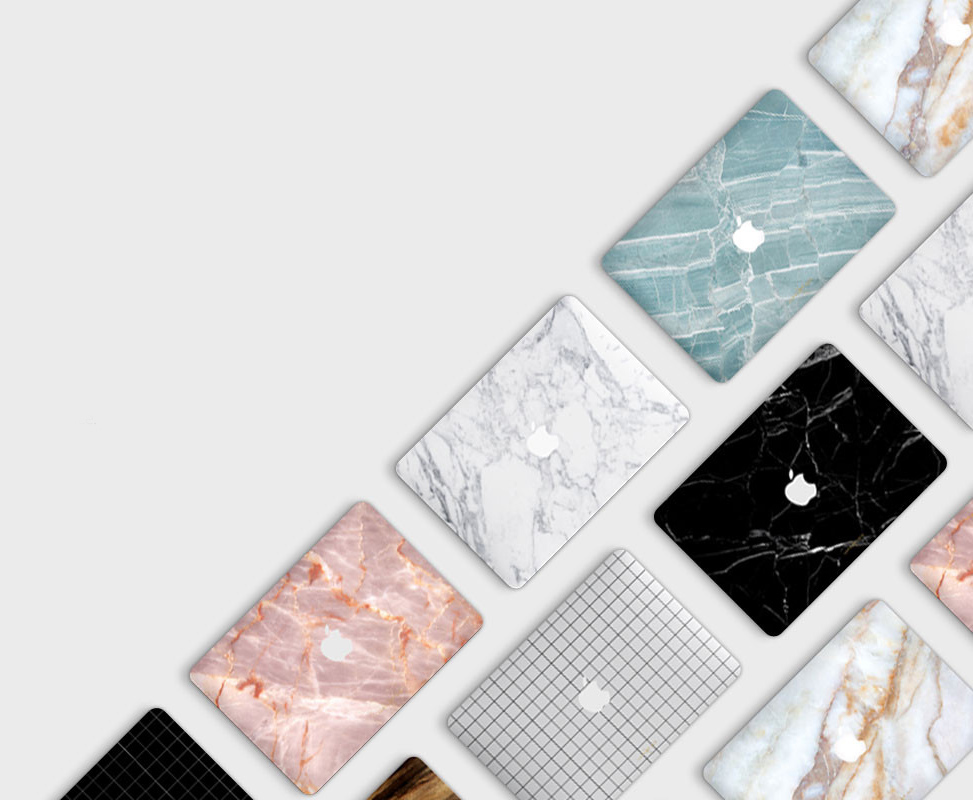 Uniqfind Marble Macbook Skins For Protection Design Milk