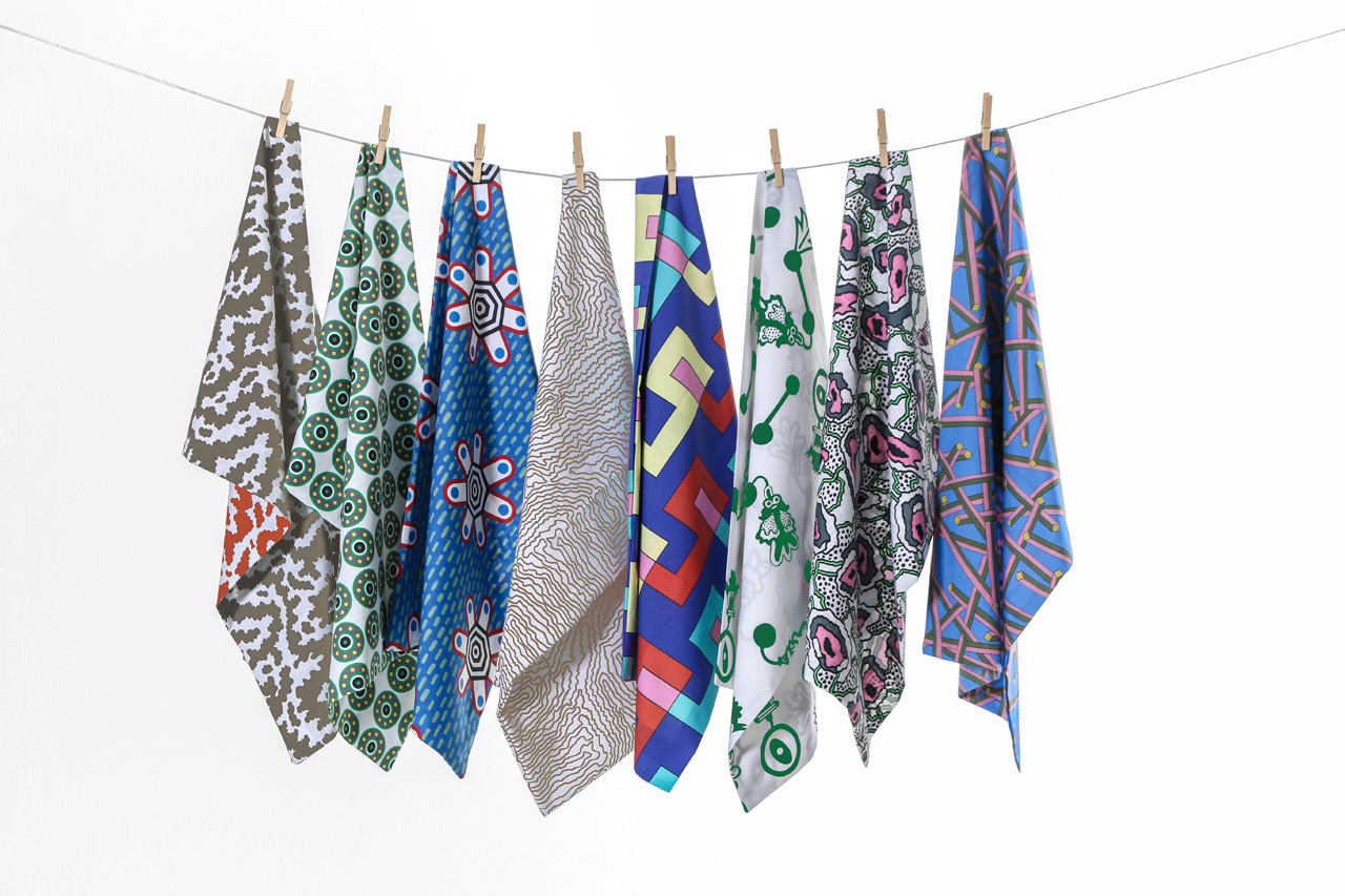Colorful, Eye-Catching Textiles from ZigZagZurich
