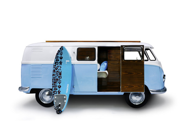A Limited Edition, VW Bus-Inspired Kids Bed - Design Milk