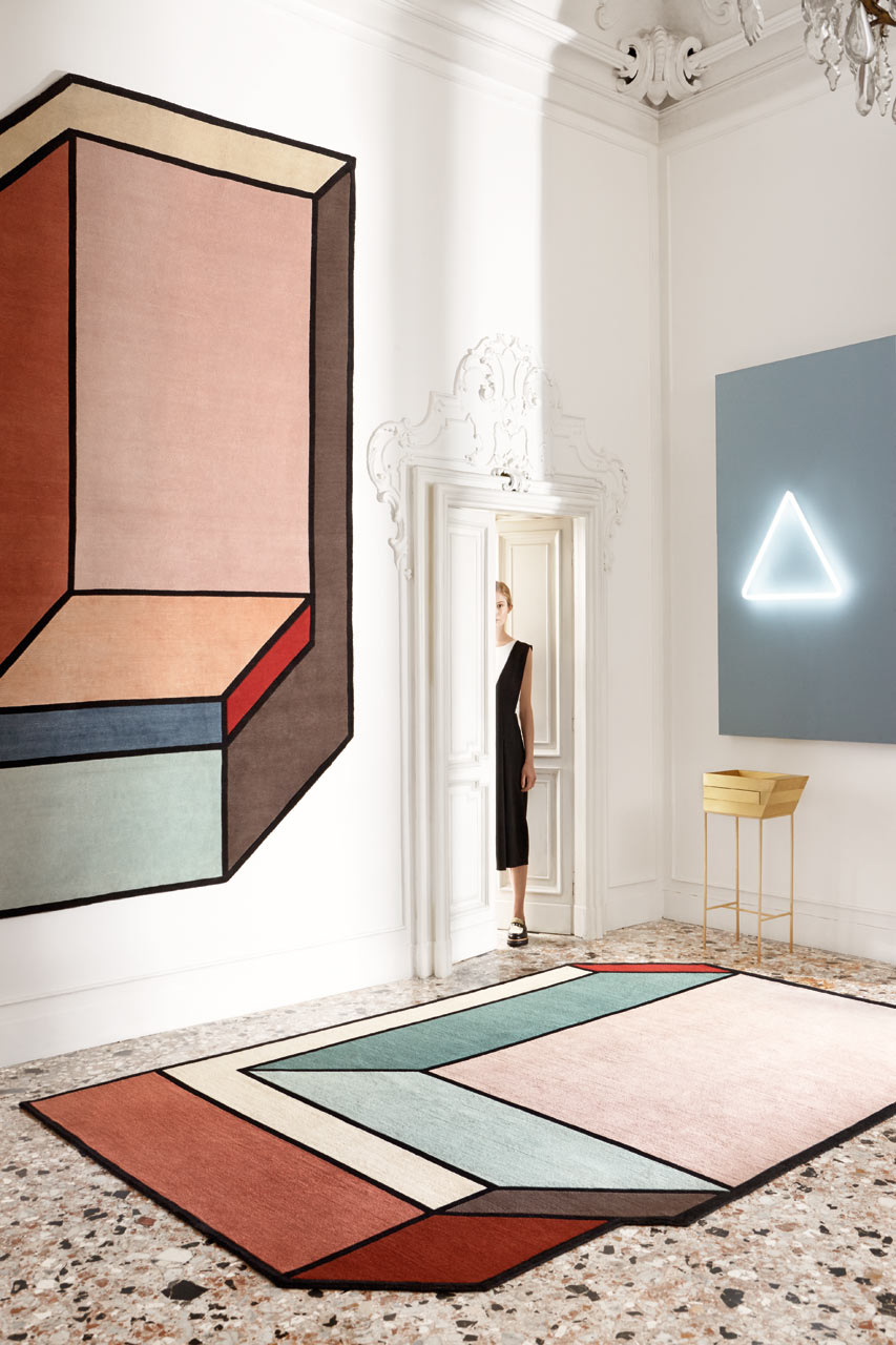 Abstract rugs by patricia urquiola for cc tapis design milk Tapis moderne design
