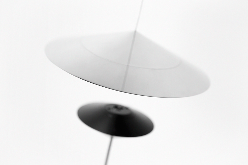 Opposites Attract With The Magnetica Lamp by Vittorio Venezia