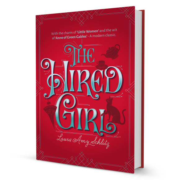 The Hired Girl cover redesign