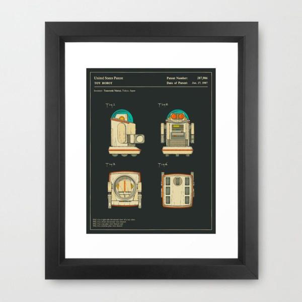 robot-1987-framed-print