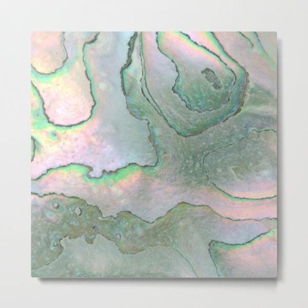 shell-texture-metal-print