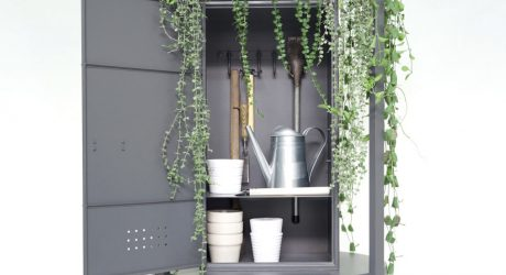 A Gardening Cabinet That Doubles as a Planter