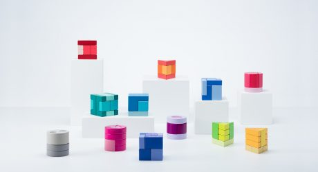A Modern Toy Block Collection by Monogoto