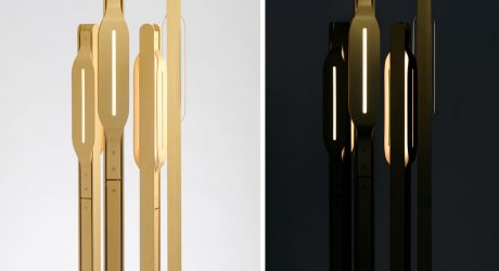 Allumette Floor Light by Knauf and Brown
