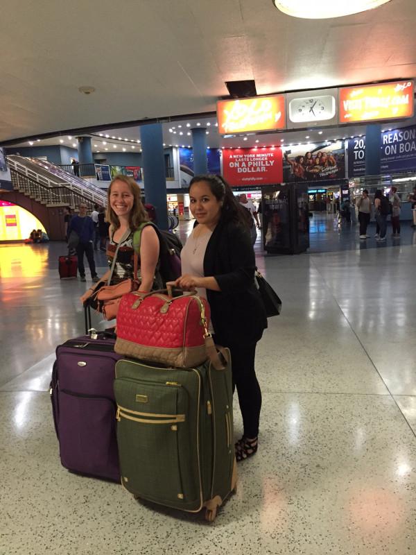 Sarah and Karina embark on their journey