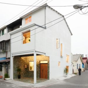 A Classic Two and a Half-Story House in Taiwan Gets a Modern Intervention