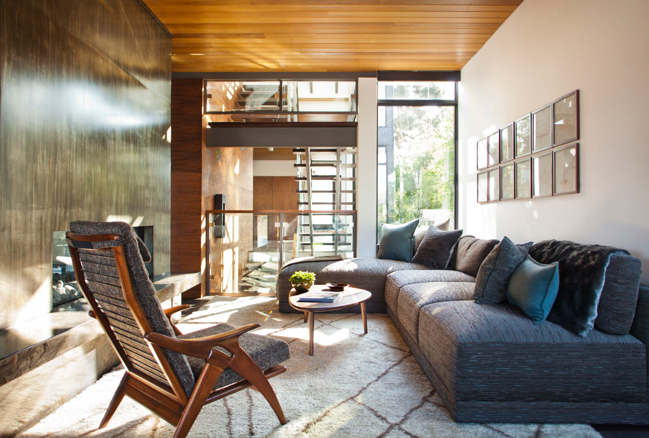 A House With Mid Century Modern And Italian Influences