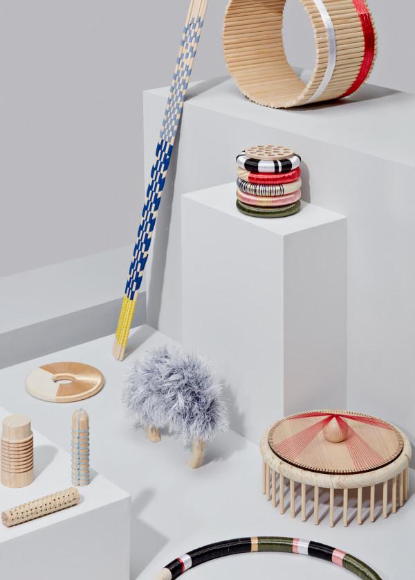 Wood Weavings  By Simone Post