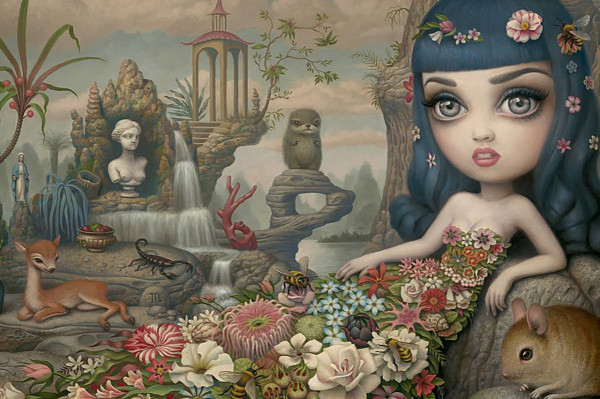 Katy Aphrodite (detail) by Mark Ryden \\\ Pop surrealism