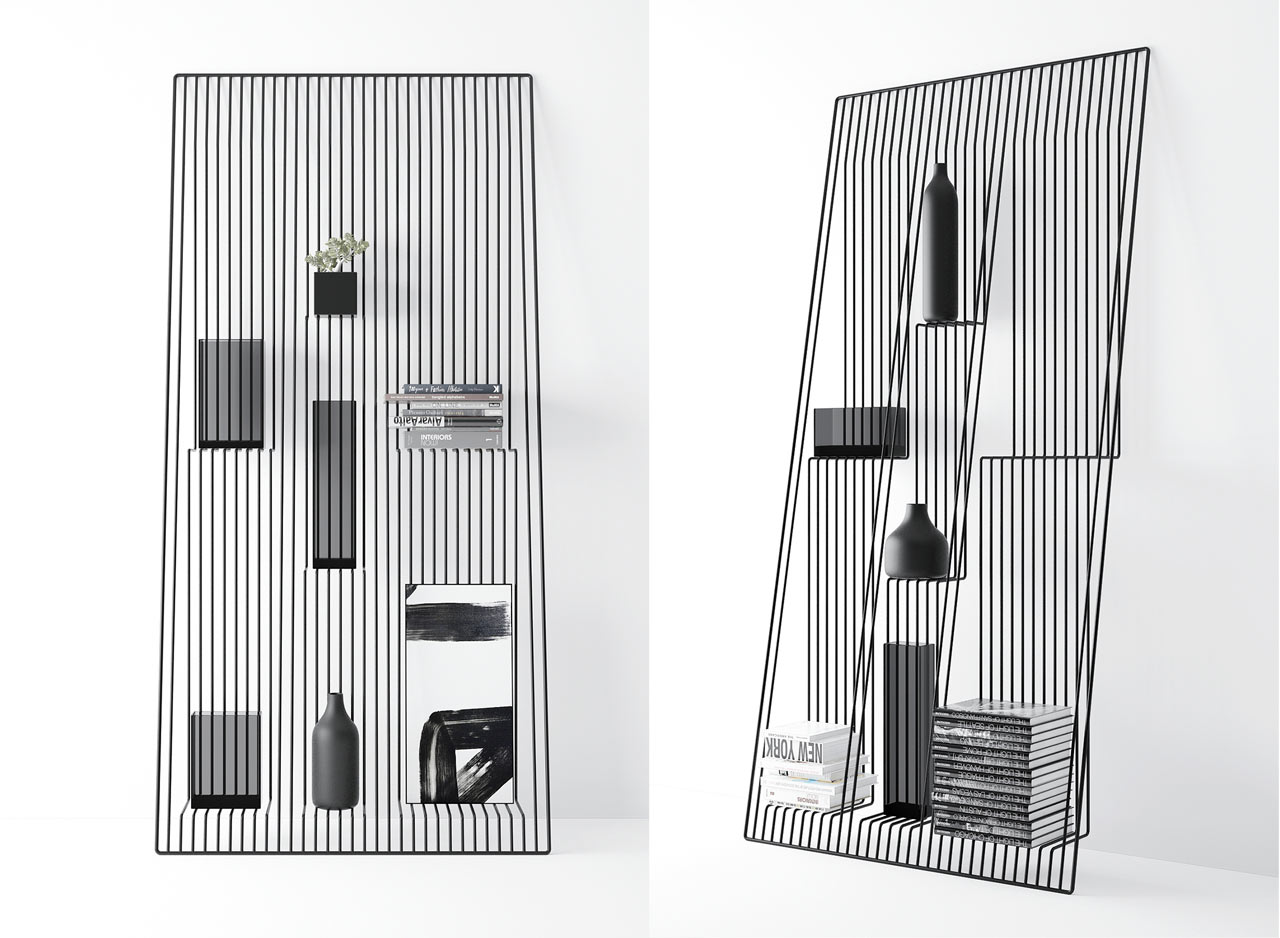 Field: A Shelf That Gives the Illusion That Your Stuff is Floating
