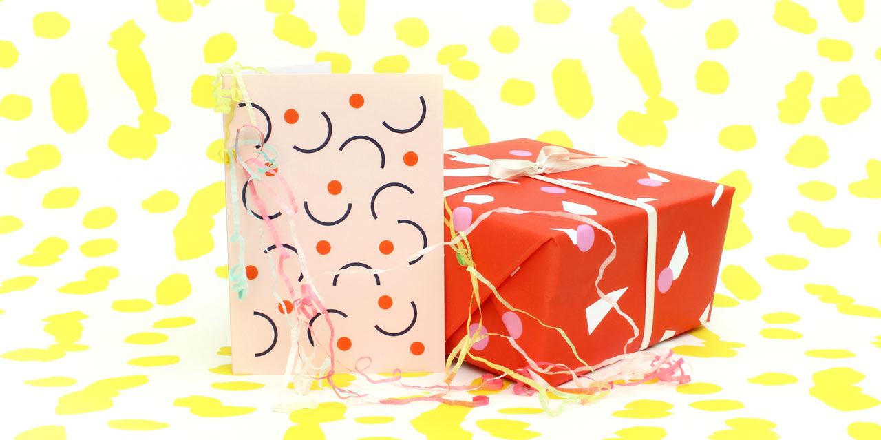 Wrapping Paper and Cards from Hannah Richards