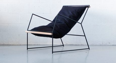A Sling Chair Inspired by Clouds