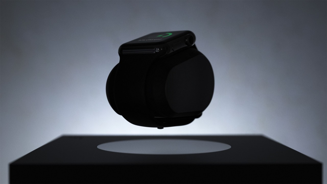 LIFT Anti-Gravity Levitating Smartwatch Charger and Lamp for Apple Watch