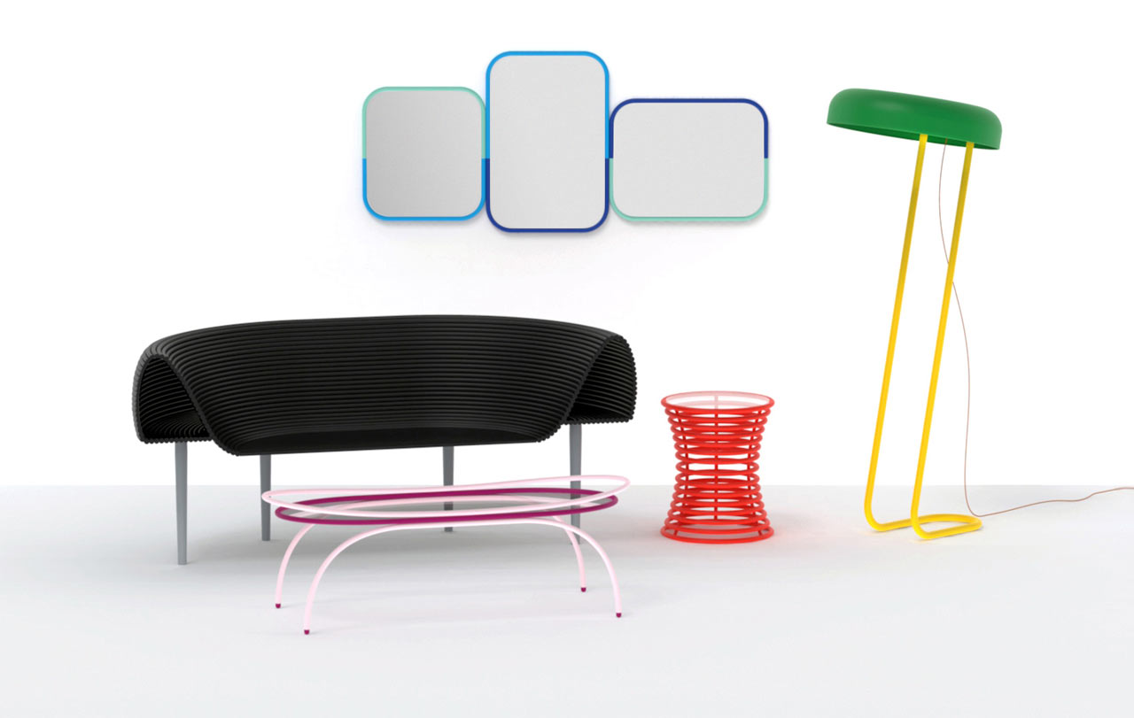 Furniture collection inspired by the london tube design milk for Designer furniture london