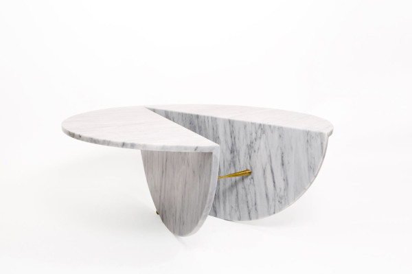 Marble Tables Inspired by Japanese Ideology