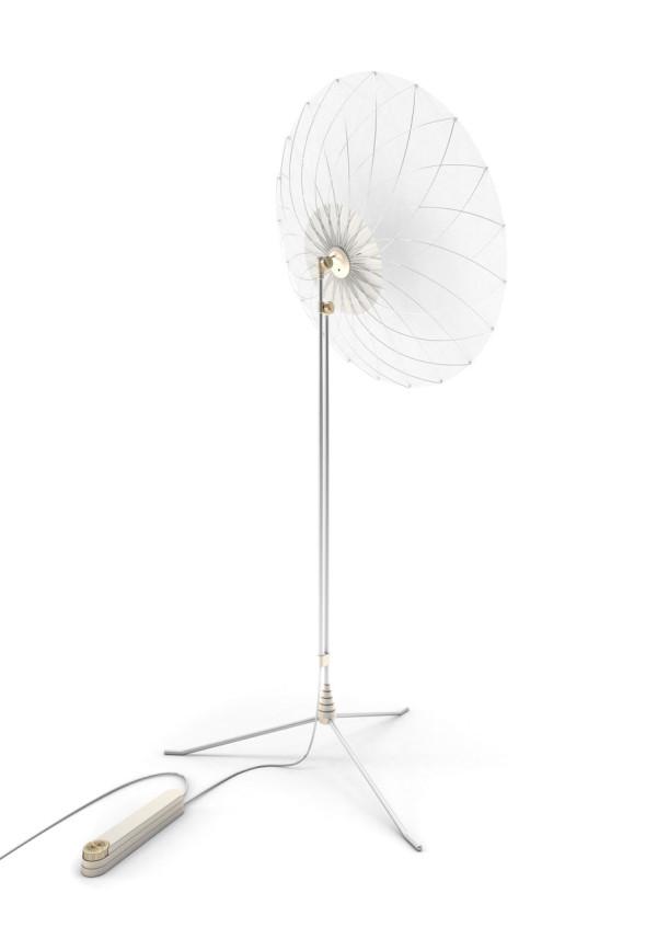 Filigree Floorlamp by Rick Tegelaar