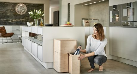 A Dieter Rams-Inspired Recycling Center