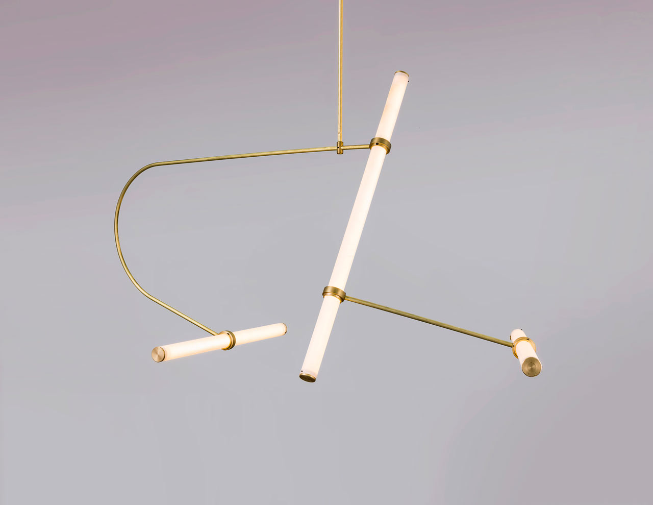 Tube Pendant Collection by Studio Naama Hofman